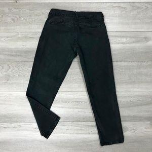 Old Navy Jeans - 🔴 Old Navy   Black Cropped Skinny Jeans   Size 1